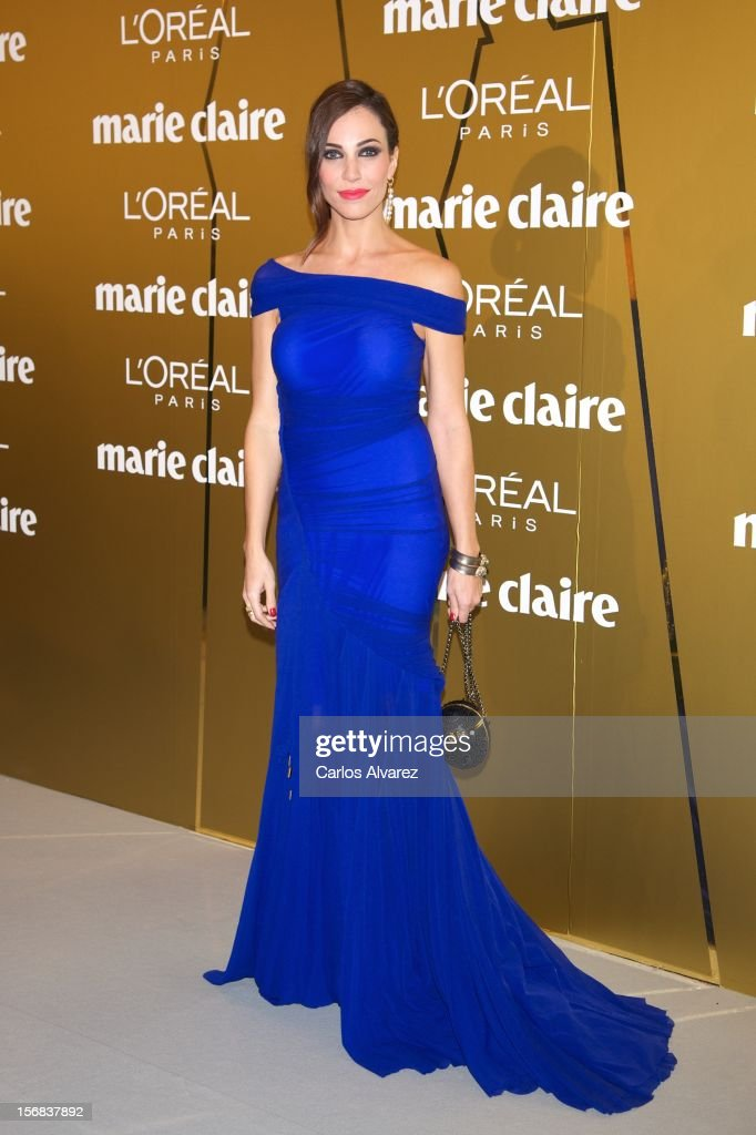 Spanish actress Nerea Garmendia attends Marie Claire Prix de la Moda Awards 2012 at the French Embassy on November 22, 2012 in Madrid, Spain.