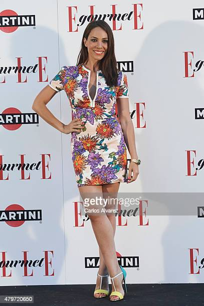 Spanish actress Nerea Garmendia attends the Elle Gourmet Awards 2015 at the Italian Embassy on July 6 2015 in Madrid Spain