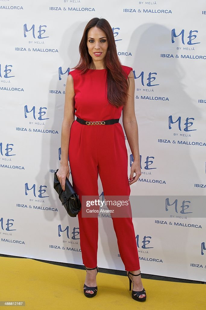 Spanish actress <a gi-track='captionPersonalityLinkClicked' href=/galleries/search?phrase=Nerea+Garmendia&family=editorial&specificpeople=5683045 ng-click='$event.stopPropagation()'>Nerea Garmendia</a> attends the Hotel ME reopening party on May 8, 2014 in Madrid, Spain.