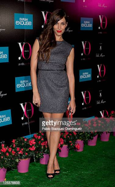 Spanish actress Nerea Garmendia attends 'Yo Dona' Magazine's coctail party at Hotel Villamagna on September 16 2011 in Madrid Spain