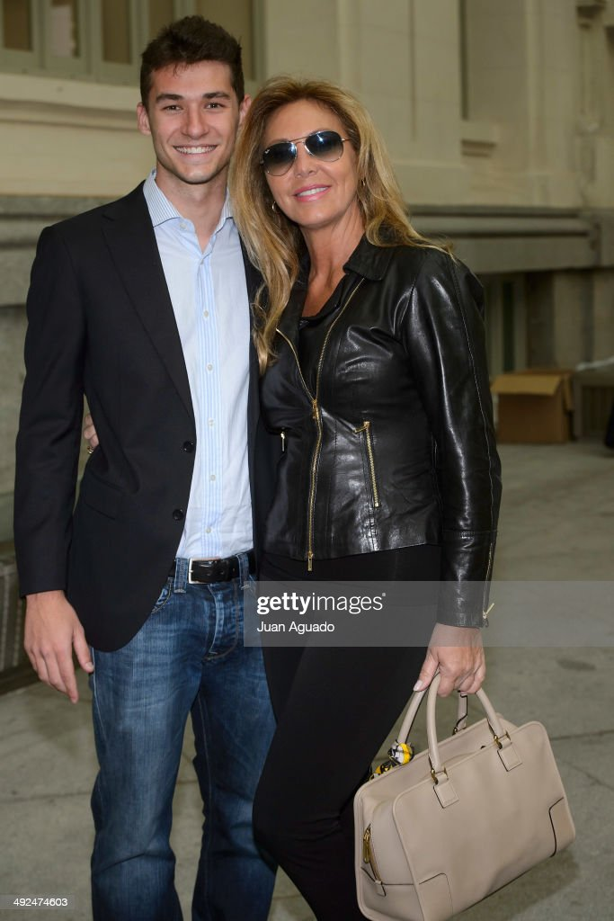 Spanish Actress Norma Duval attends to 'Costura Espana' Fashion Show on May 20 2014 in Madrid Spain
