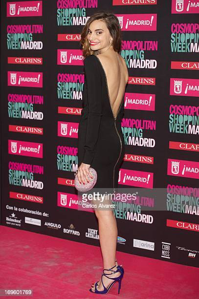 Spanish actress Norma Ruiz attends the 'Cosmopolitan Shopping Week' party at the Plaza de Callao on May 28 2013 in Madrid Spain