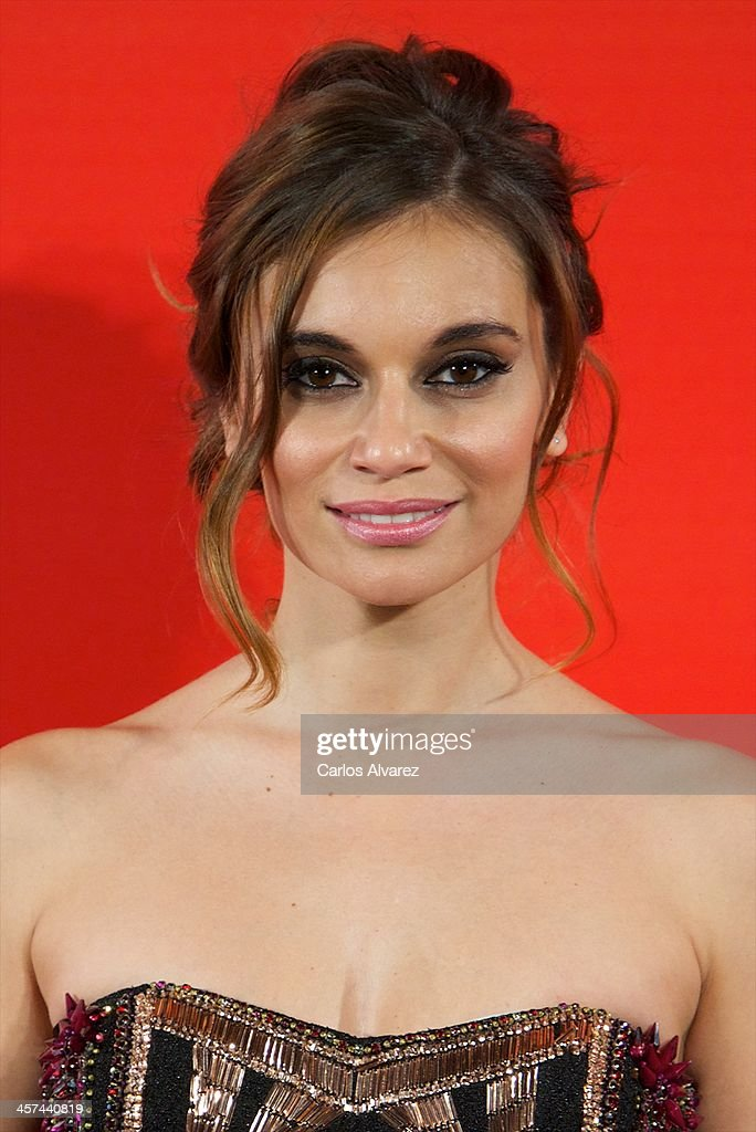 Spanish actress Norma Ruiz attends the 'Mujer de Hoy' awards 2013 at the Hotel Palace on December 17, 2013 in Madrid, Spain.