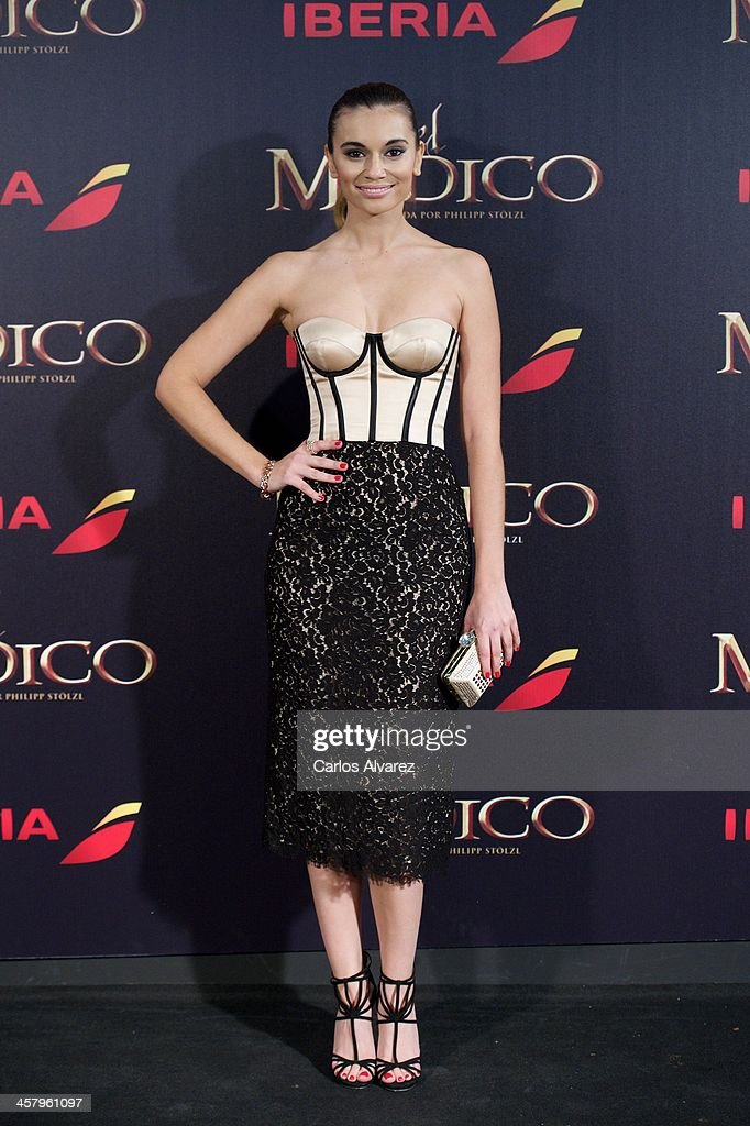 Spanish actress Norma Ruiz attends the 'The Physician' (El Medico) premiere at the Callao Cinema on December 19, 2013 in Madrid, Spain.