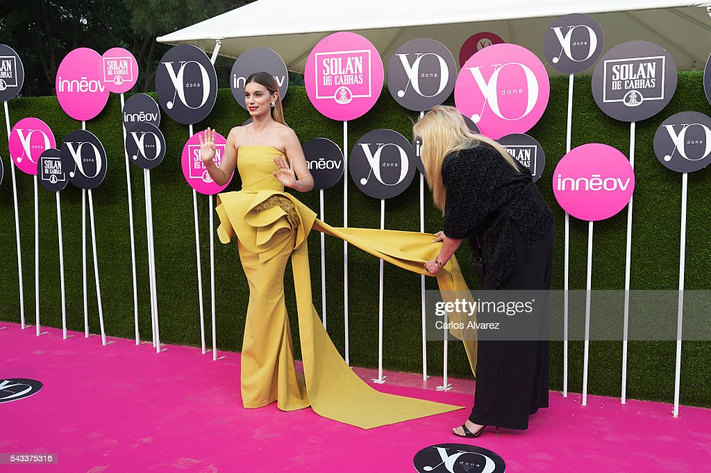 Spanish actress <a gi-track='captionPersonalityLinkClicked' href=/galleries/search?phrase=Norma+Ruiz&family=editorial&specificpeople=4152734 ng-click='$event.stopPropagation()'>Norma Ruiz</a> attends 'Yo Dona' International awards on June 27, 2016 in Madrid, Spain.