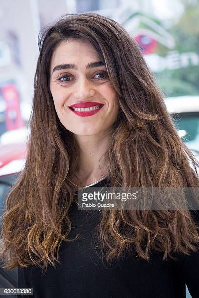 Spanish actress Olivia Molina presents 'Soundrise by Citroen C3' at Citroen store on December 16 2016 in Madrid Spain