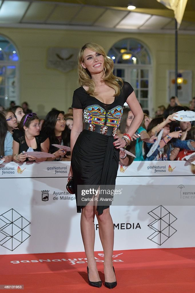 Spanish actress Patricia Conde attends the 'Carmina y Amen' premiere during the 17th Malaga Film Festival at the Cervantes Theater on March 22, 2014 in Malaga, Spain.