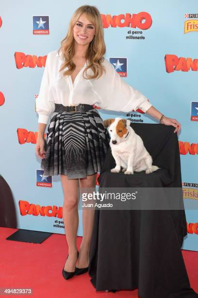 Spanish Actress Patricia Conde attends the 'Pancho El Perro Millonario' Madrid Premiere on May 31 2014 in Madrid Spain