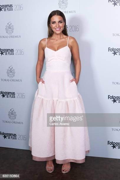 Spanish actress Paula Echevarria attends 'Fotogramas de Plata' awards 2016 at the Tatel Restaurant on February 13 2017 in Madrid Spain