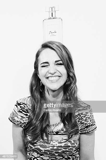 Spanish actress Paula Echevarria launches her new parfum 'Paula Echevarria' at the Fernando el Santo Palace on September 10 2015 in Madrid Spain