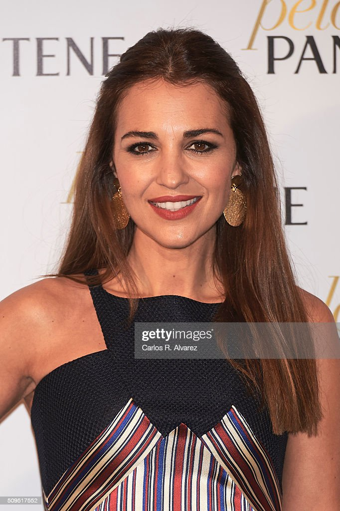 Spanish actress <a gi-track='captionPersonalityLinkClicked' href=/galleries/search?phrase=Paula+Echevarria&family=editorial&specificpeople=4152727 ng-click='$event.stopPropagation()'>Paula Echevarria</a> presents 'Mi PeloPantene' on February 11, 2016 in Madrid, Spain.