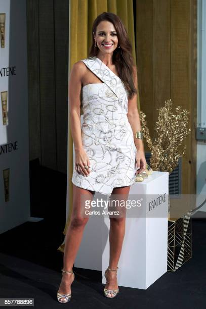 Spanish actress Paula Echevarria presents '#ShareTheMiracle' by Pantene on October 5 2017 in Madrid Spain