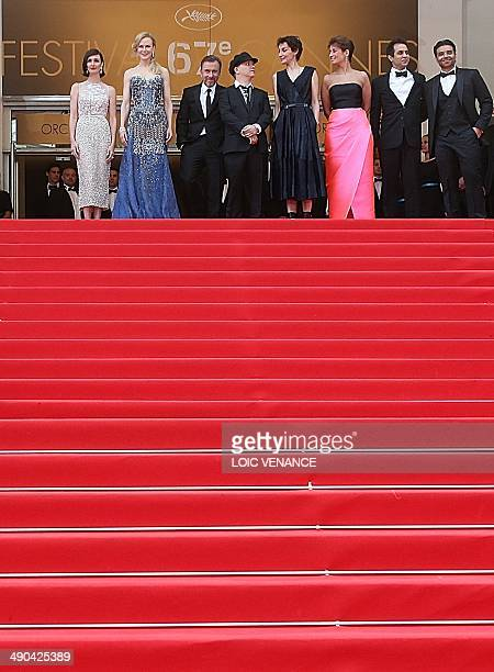 Spanish actress Paz Vega Australian actress Nicole Kidman British actor Tim Roth French director Olivier Dahan French actress Jeanne Balibar a guest...