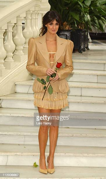 Spanish Actress Paz Vega during 'Carmen' Photocall Madrid at Ritz Hotel in Madrid Spain