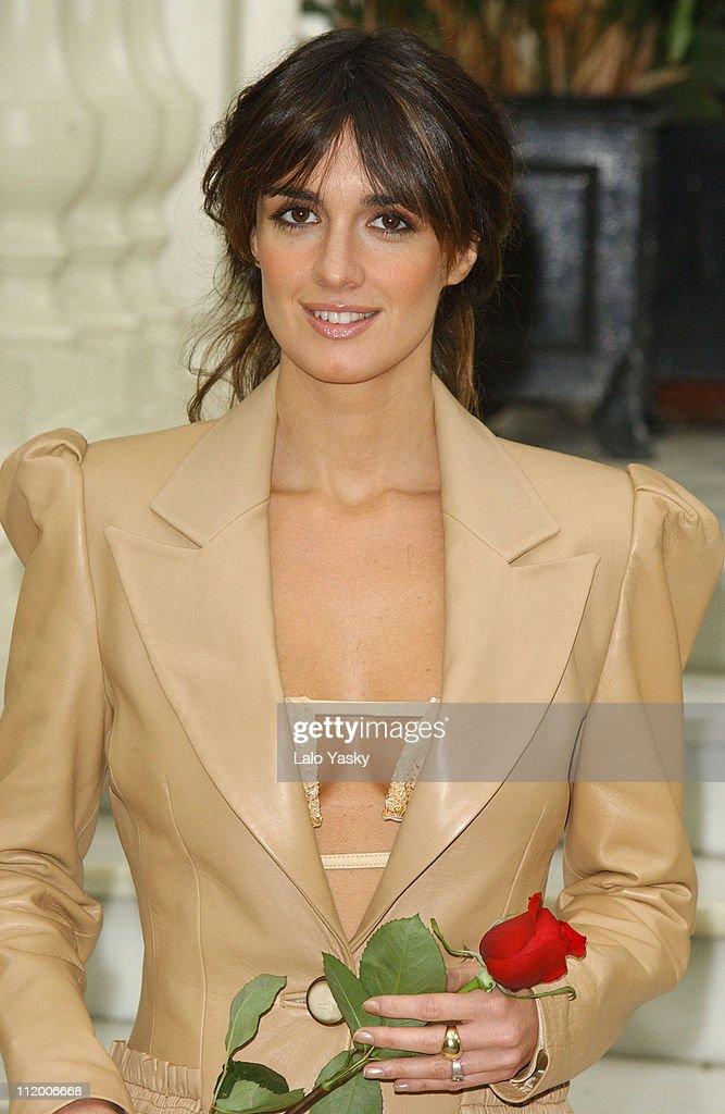 Spanish Actress Paz Vega during 'Carmen' Photocall Madrid at Ritz Hotel in Madrid Spain