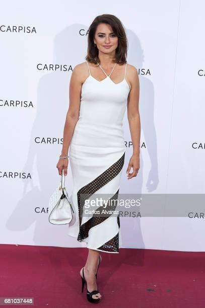 Spanish actress Penelope Cruz attends Carpisa photocall presentation at the Italian Embassy on May 9 2017 in Madrid Spain