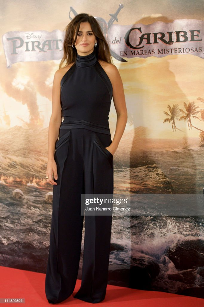 Spanish actress Penelope Cruz attends 'Pirates Of The Caribbean: On Stranger Tides' (Piratas del Caribe: en Mareas Misteriosas) photocall at Villamagna Hotel on May 18, 2011 in Madrid, Spain.