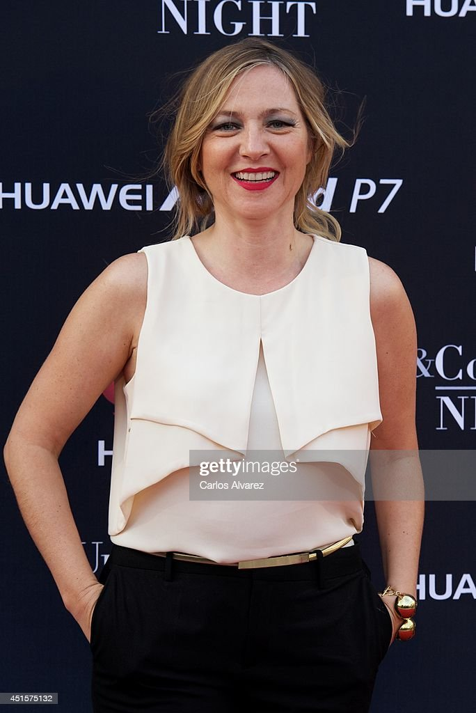 Spanish actress Pilar Castro attends Huawei Ascend P7 cocktail party at the Pastrana Palace on July 1, 2014 in Madrid, Spain.
