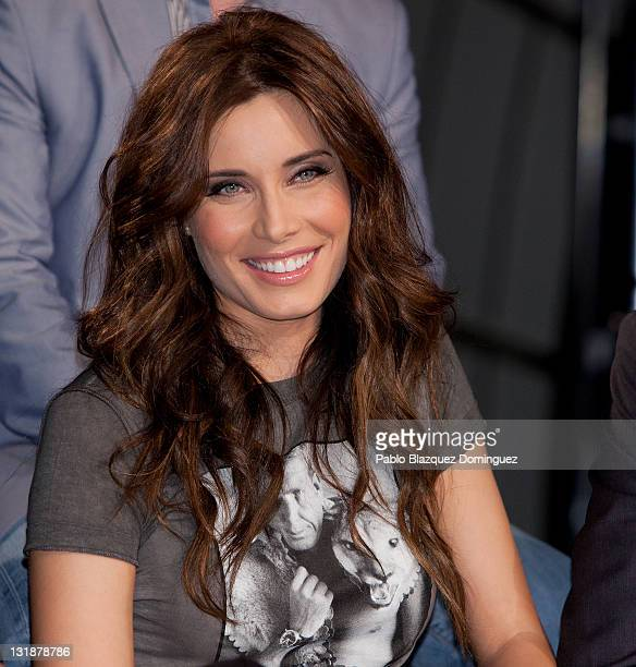Spanish actress Pilar Rubio presents 'Piratas' at Telecinco Tv Channel on April 28 2011 in Madrid Spain