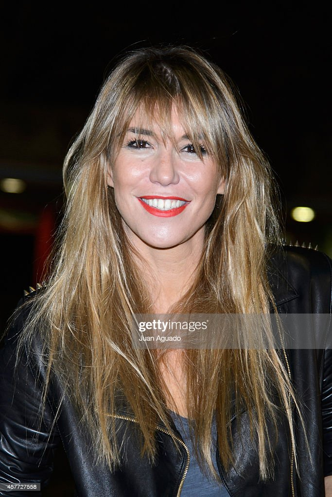 Spanish actress Raquel Merono attends the Halloween Party at El Parque de Atracciones on October 23 2014 in Madrid Spain