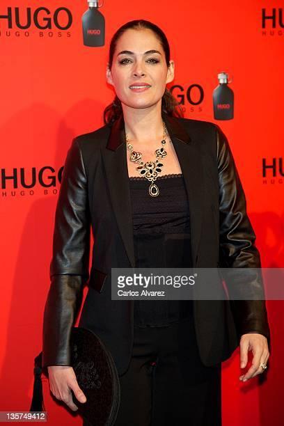 Spanish actress Rocio Munoz attends Hugo Boss night party 2011 on December 13 2011 in Madrid Spain