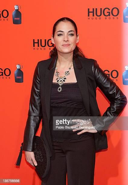 Spanish actress Rocio Munoz attends Hugo Boss Night Party on December 13 2011 in Madrid Spain