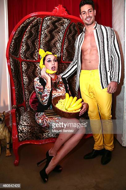 Spanish actress Rossy de Palma attends the inauguration of the Bananas restaurant on December 11 2014 in Barcelona Spain