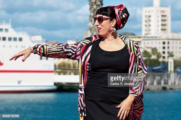 Spanish actress Rosy de Palma attends the 'El Intercambio' photocall on day 7 of the 20th Malaga Film Festival on March 23 2017 in Malaga Spain