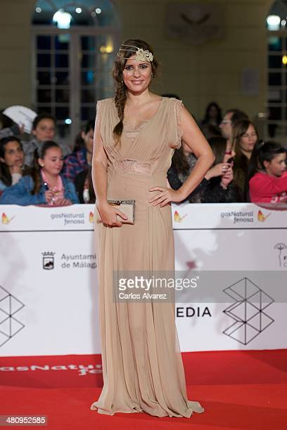 Spanish actress Ruth Armas attends the 'Todos Estan Muertos' premiere during the 17th Malaga Film Festival 2014 Day 7 on March 27 2014 in Malaga Spain