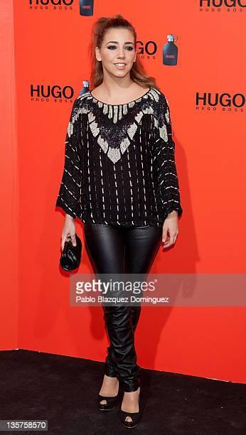 Spanish actress Sandra Cervera attends Hugo Boss Night Party on December 13 2011 in Madrid Spain