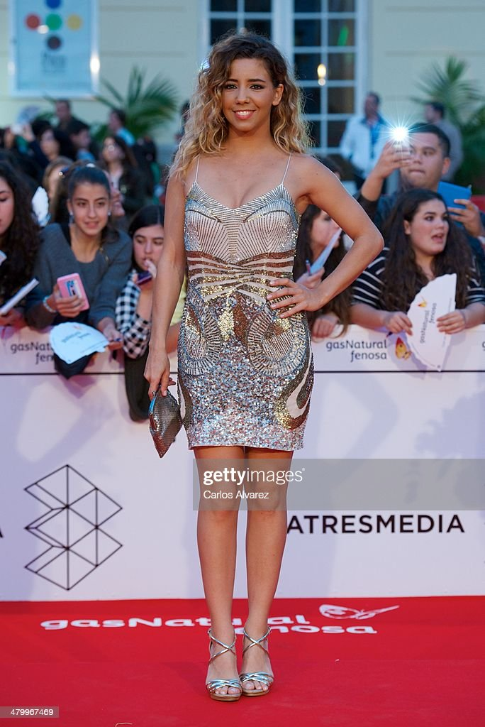 Spanish actress Sandra Cervera attends the 17th Malaga Film Festival 2014 opening ceremony at the Cervantes Theater on March 21, 2014 in Malaga, Spain.
