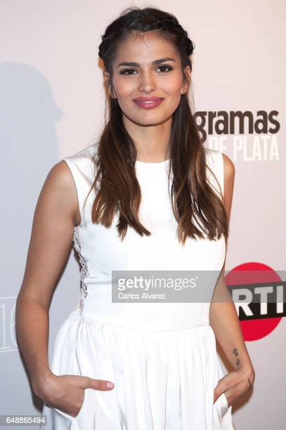 Spanish actress Sara Salamo attends the Fotogramas Magazine cinema awards 2017 at the Joy Eslava Club on March 6 2017 in Madrid Spain