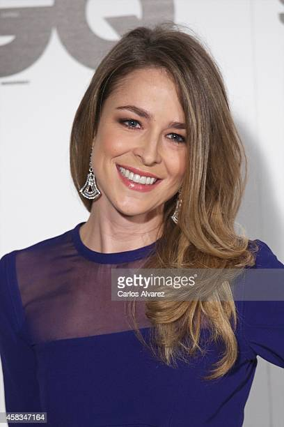 Spanish actress Silvia Abascal attends the GQ 2014 Men of the Year awards at the Palace Hotel on November 3 2014 in Madrid Spain