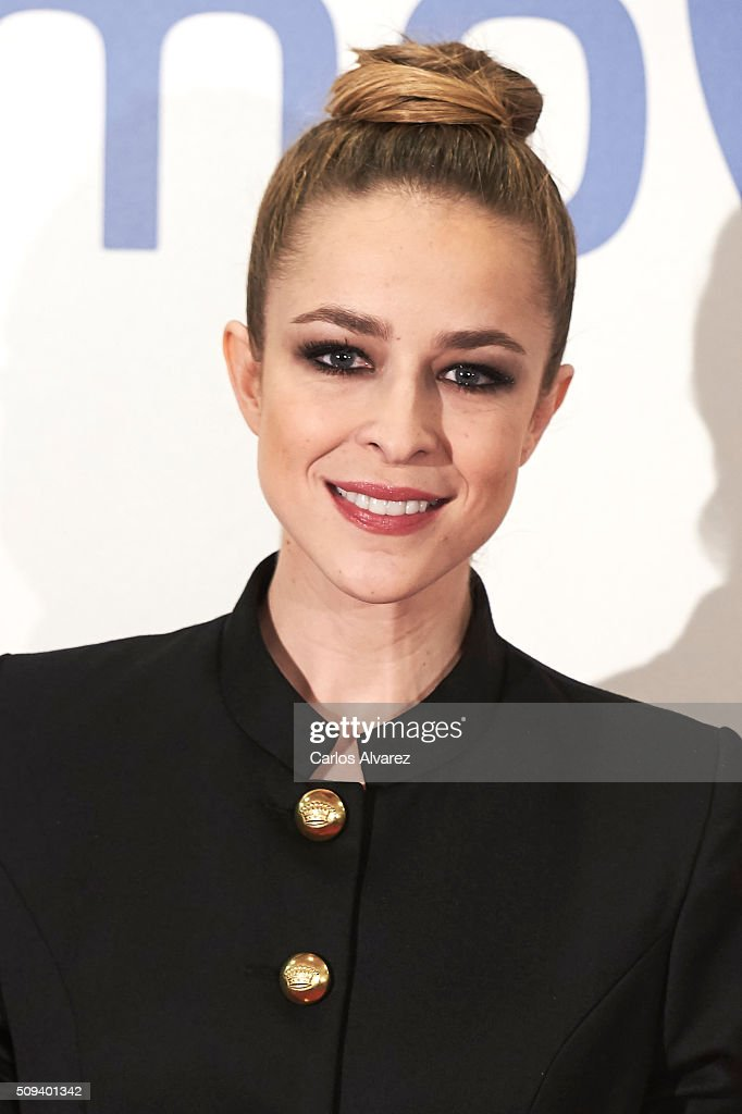 Spanish actress <a gi-track='captionPersonalityLinkClicked' href=/galleries/search?phrase=Silvia+Abascal&family=editorial&specificpeople=605766 ng-click='$event.stopPropagation()'>Silvia Abascal</a> attends the 'Que fue de Jorge Sanz' premiere at the Proyecciones cinema on February 10, 2016 in Madrid, Spain.