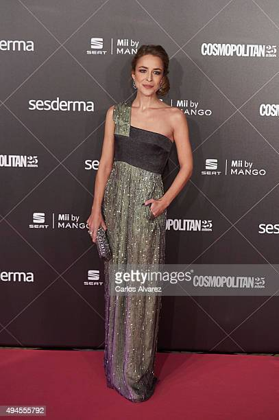 Spanish actress Silvia Abascal attends the VIII Cosmopolitan Fun Fearless Female Awards at the Ritz hotel on October 27 2015 in Madrid Spain