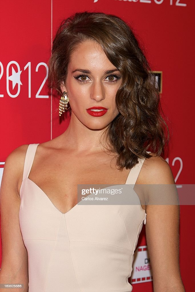 Spanish actress Silvia Alonso attends Fotogramas awards 2013 at the Joy Eslava Club on March 11, 2013 in Madrid, Spain.