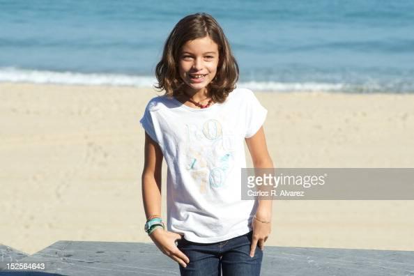 Spanish actress Sofia Oria attends...