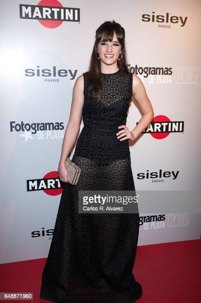 Spanish actress Susana Abaitua attends the Fotogramas Magazine cinema awards 2017 at the Joy Eslava Club on March 6 2017 in Madrid Spain