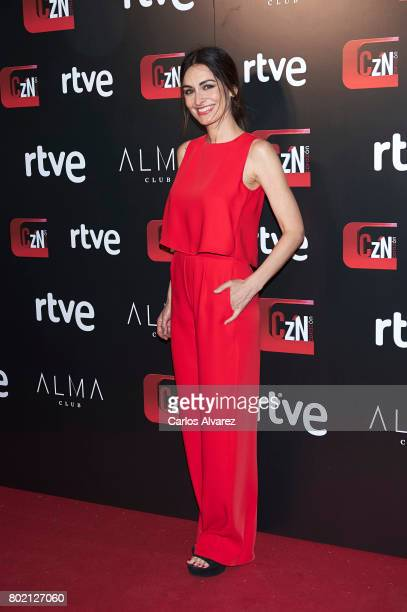 Spanish actress Susana Cordoba attends 'Corazon' TV programme 20th Anniversary at the Alma club on June 27 2017 in Madrid Spain