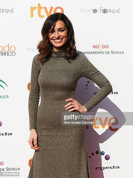 Spanish actress Susana Cordoba attends the 'Jose Maria Forque Awards' Final Candidates Lecture on December 13 2016 in Seville Spain