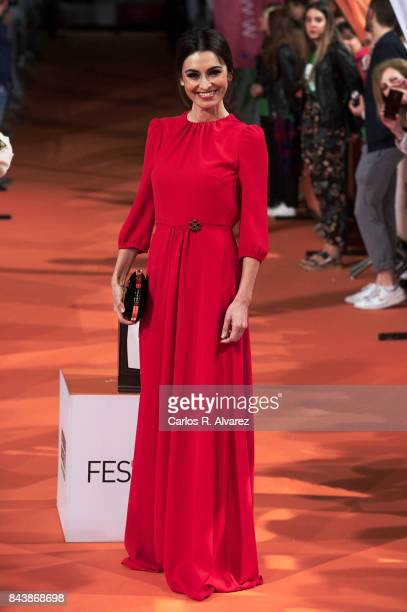 Spanish actress Susana Cordoba attends the 'Traicion' premiere at the Principal Teather during the FesTVal 2017 on September 7 2017 in VitoriaGasteiz...