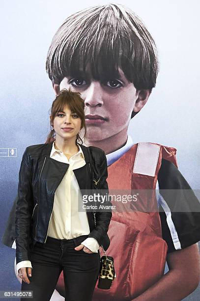 Spanish actress Thais Blume attends 'Nacido En Siria' premiere at Palafox cinema on January 11 2017 in Madrid Spain