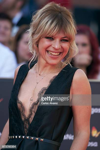 Spanish actress Thais Blume attends the 19th Malaga Spanish Film Festival open ceremony at the Cervantes Theater on April 22 2016 in Malaga Spain