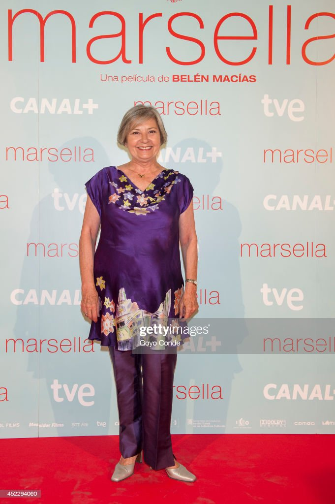 Spanish actress Tina Sanz attends 'Marsella' premiere at the Capitol cinema on July 17, 2014 in Madrid, Spain.