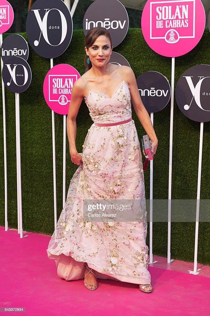 Spanish actress Toni Acosta attends 'Yo Dona' International awards on June 27, 2016 in Madrid, Spain.