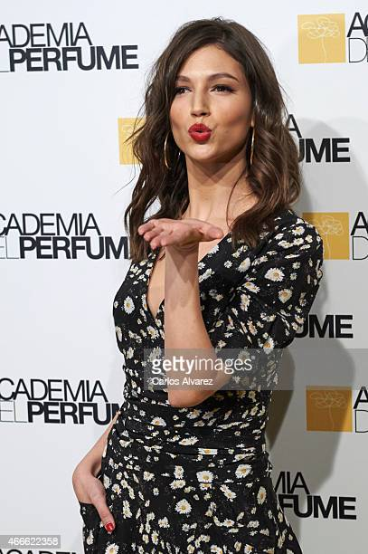 Spanish actress Ursula Corbero attends 'Academia del Perfume' 2015 awards at the Casa Amaerica on March 17 2015 in Madrid Spain