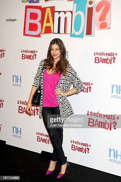 Spanish actress Ursula Corbero attends the 'Quien Mato a Bambi' photocall at Hesperia Emperatriz Hotel on November 12 2013 in Madrid Spain