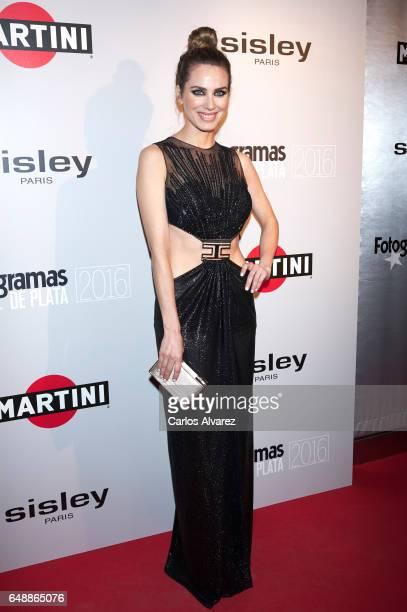Spanish actress Vanessa Romero attends the Fotogramas Magazine cinema awards 2017 at the Joy Eslava Club on March 6 2017 in Madrid Spain