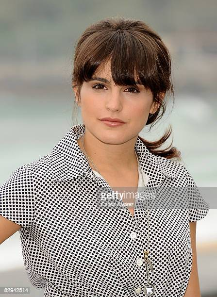 Spanish actress Veronica Echegui attends 'El Patio De Mi Carcel' photocall at the Kursaal Palace during the 56th San Sebastian International Film...
