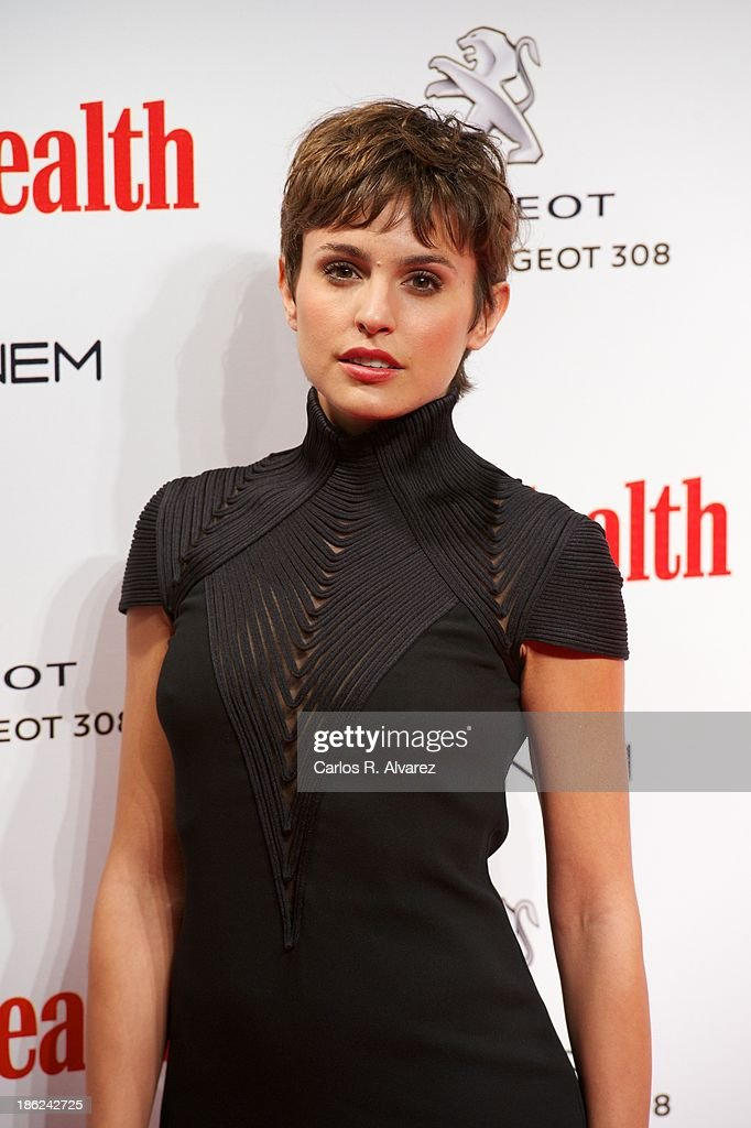 Spanish actress Veronica Echegui attends Men's Health Awards 2013 at the Canal Theater on October 29, 2013 in Madrid, Spain.